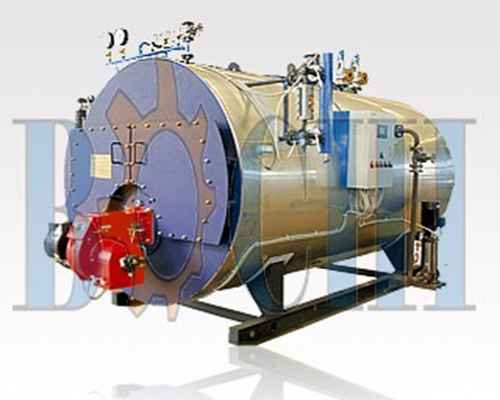 Oil / Gas Hot water Boiler, Marine Auxiliary Machinery , Boilers and ...